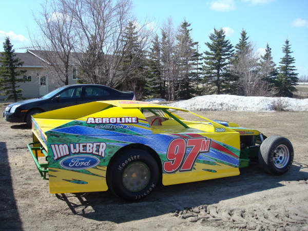 dirt modified race car wraps